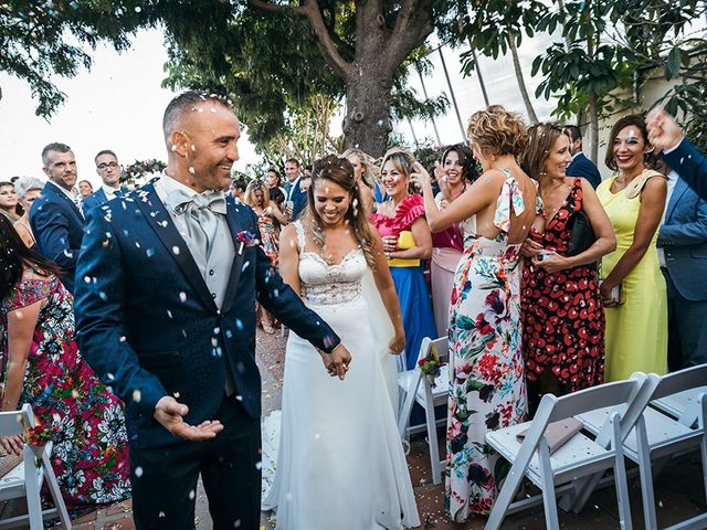 La boda de David y Yaiza en San Cristóbal de La Laguna, Santa Cruz de Tenerife 107