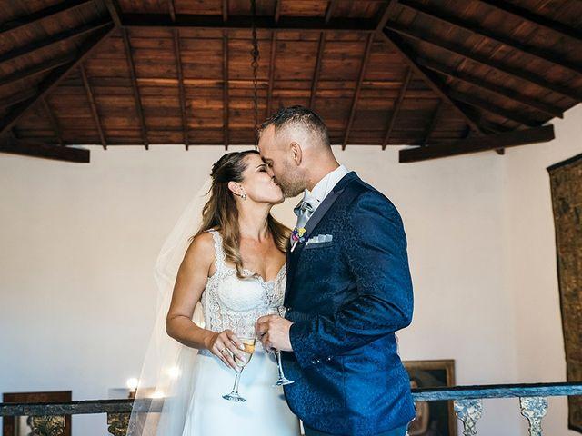 La boda de David y Yaiza en San Cristóbal de La Laguna, Santa Cruz de Tenerife 111