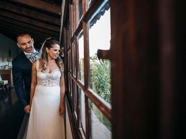 La boda de David y Yaiza en San Cristóbal de La Laguna, Santa Cruz de Tenerife 112