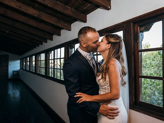La boda de David y Yaiza en San Cristóbal de La Laguna, Santa Cruz de Tenerife 113