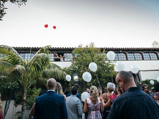 La boda de David y Yaiza en San Cristóbal de La Laguna, Santa Cruz de Tenerife 119