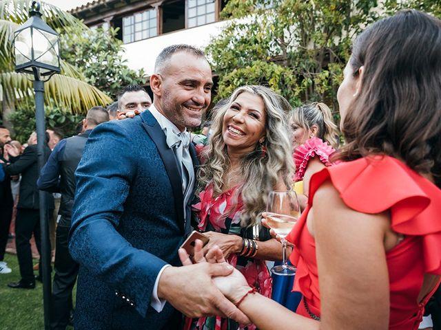 La boda de David y Yaiza en San Cristóbal de La Laguna, Santa Cruz de Tenerife 124