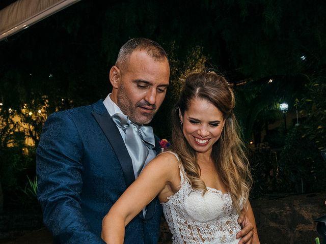 La boda de David y Yaiza en San Cristóbal de La Laguna, Santa Cruz de Tenerife 161