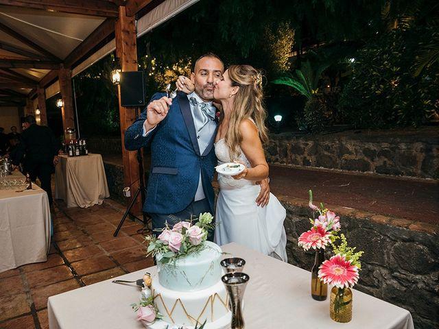 La boda de David y Yaiza en San Cristóbal de La Laguna, Santa Cruz de Tenerife 162