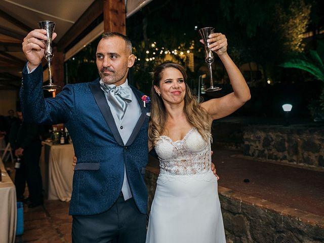 La boda de David y Yaiza en San Cristóbal de La Laguna, Santa Cruz de Tenerife 163