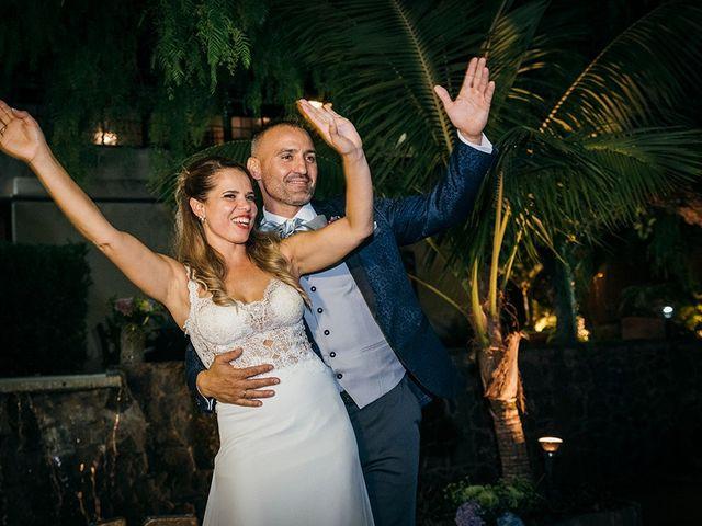 La boda de David y Yaiza en San Cristóbal de La Laguna, Santa Cruz de Tenerife 171