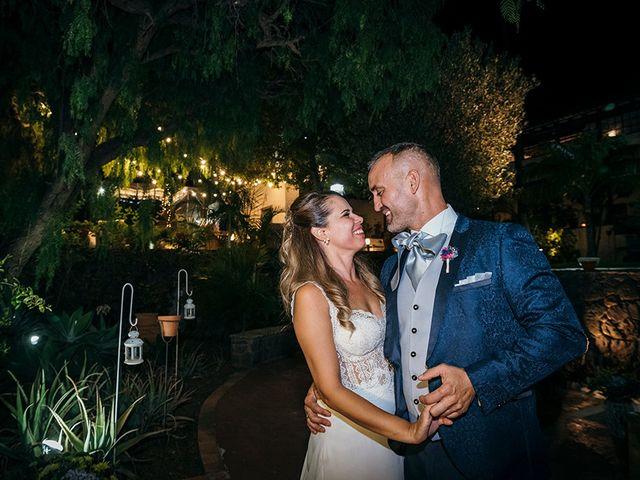 La boda de David y Yaiza en San Cristóbal de La Laguna, Santa Cruz de Tenerife 174