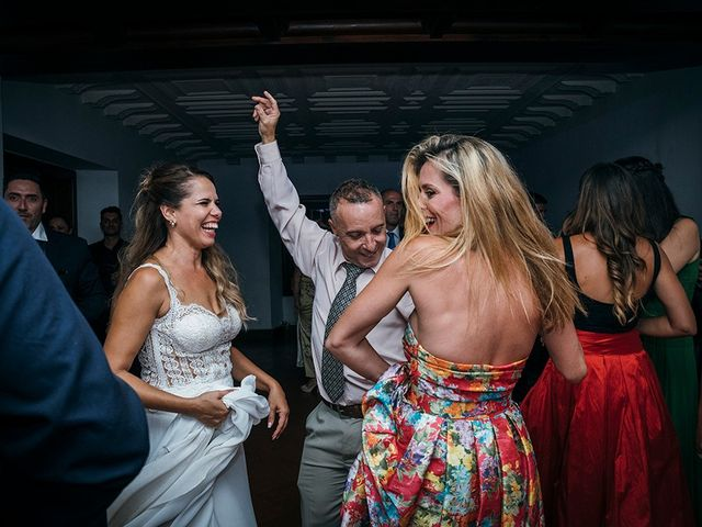 La boda de David y Yaiza en San Cristóbal de La Laguna, Santa Cruz de Tenerife 178