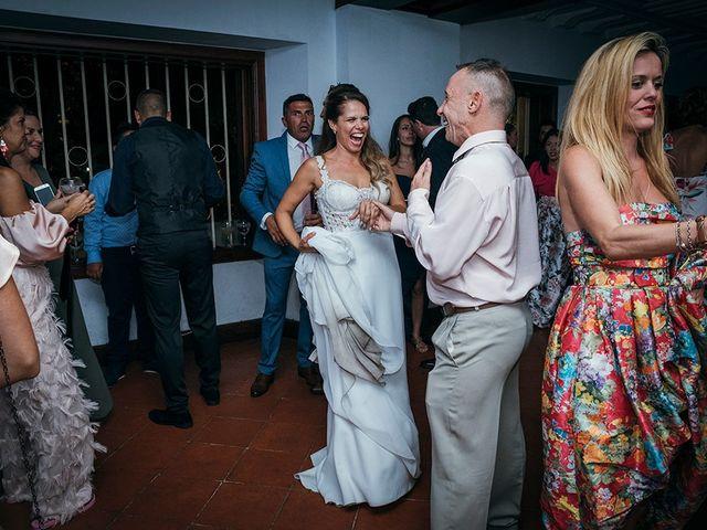 La boda de David y Yaiza en San Cristóbal de La Laguna, Santa Cruz de Tenerife 179