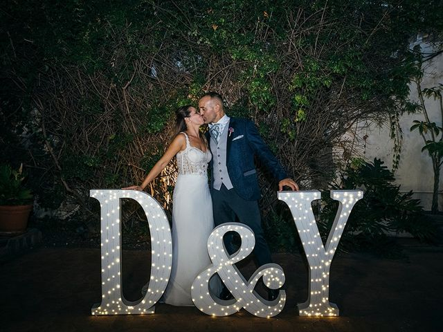 La boda de David y Yaiza en San Cristóbal de La Laguna, Santa Cruz de Tenerife 182