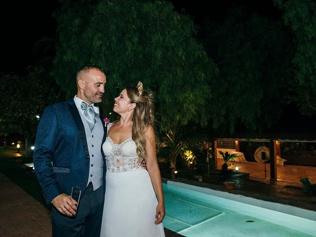 La boda de David y Yaiza en San Cristóbal de La Laguna, Santa Cruz de Tenerife 188