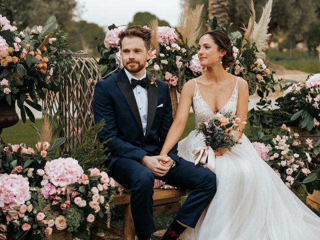 La boda de Dafydd y Raquel en Aspe, Alicante 44