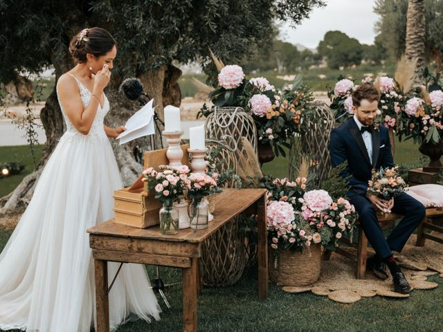 La boda de Dafydd y Raquel en Aspe, Alicante 45