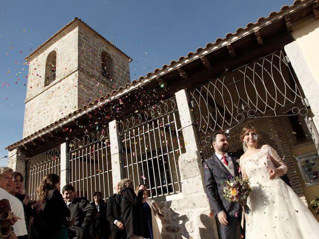 La boda de Laura y Daniel en Mangiron, Madrid 43