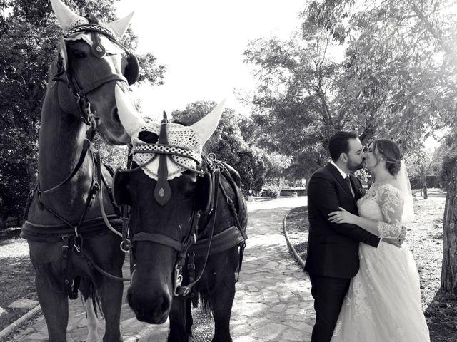 La boda de Laura y Daniel en Mangiron, Madrid 2