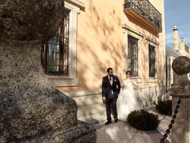 La boda de Laura y Daniel en Mangiron, Madrid 53