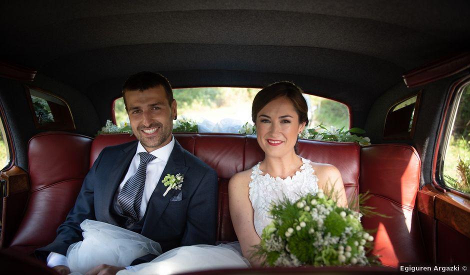 La boda de Josu y Leire en Zarautz, Guipúzcoa