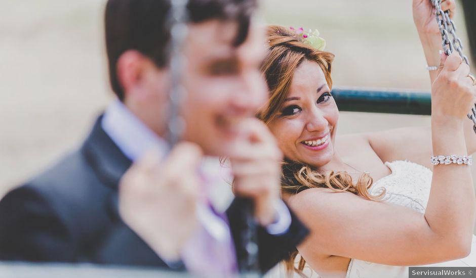 La boda de Tzvetomir y Gabriela en Yuncos, Toledo