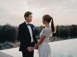 La boda de Cristina y Jules