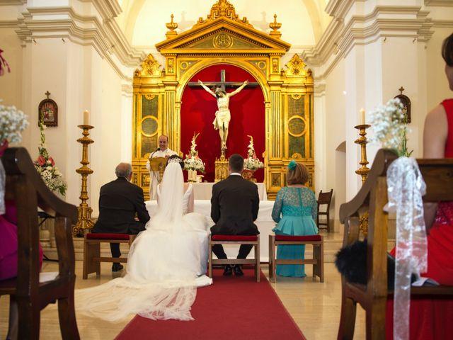 La boda de Jose y Gema en Bolaños De Calatrava, Ciudad Real 19