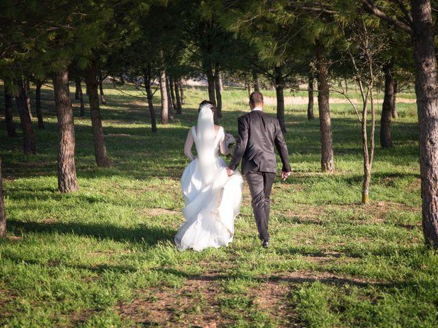 La boda de Jose y Gema en Bolaños De Calatrava, Ciudad Real 23
