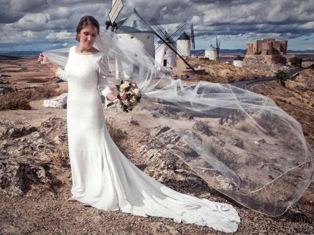 La boda de Miguel y Ana en Consuegra, Toledo 1