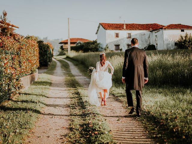 La boda de Hugo y Paula en Quintueles, Asturias 49