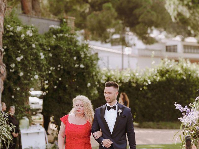 La boda de Nico y Tamara en Cabrera De Mar, Barcelona 20