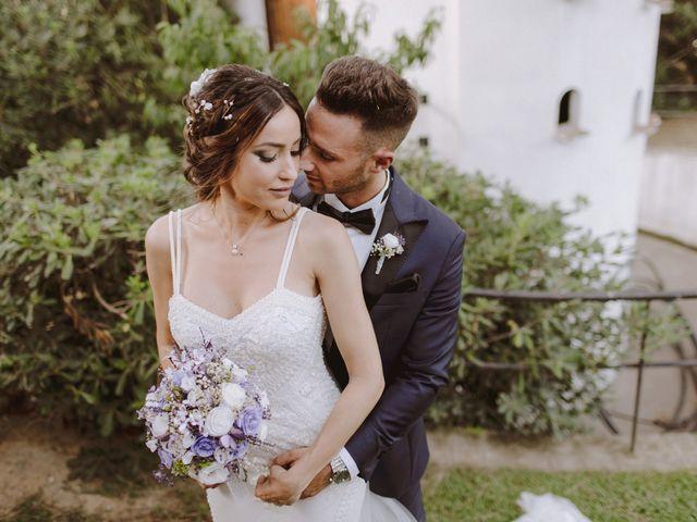 La boda de Nico y Tamara en Cabrera De Mar, Barcelona 36