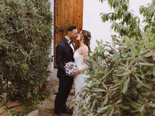 La boda de Nico y Tamara en Cabrera De Mar, Barcelona 41