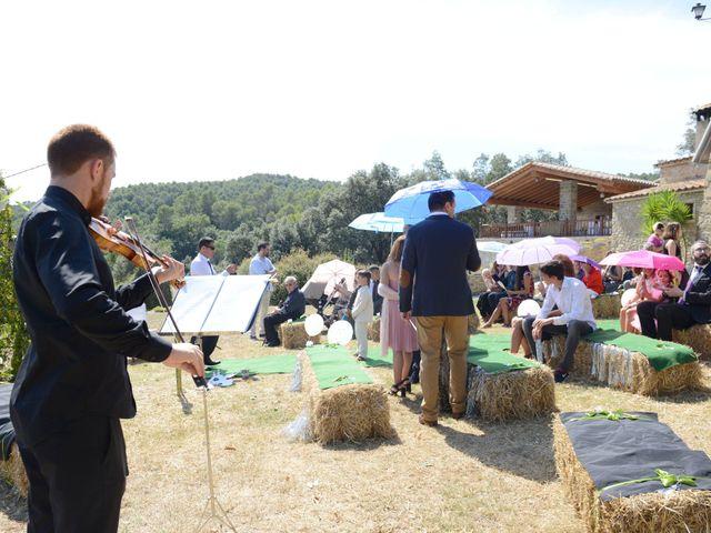 La boda de Iván  y Stella  en Camos, Girona 1