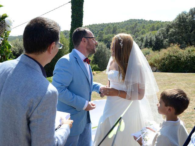 La boda de Iván  y Stella  en Camos, Girona 27