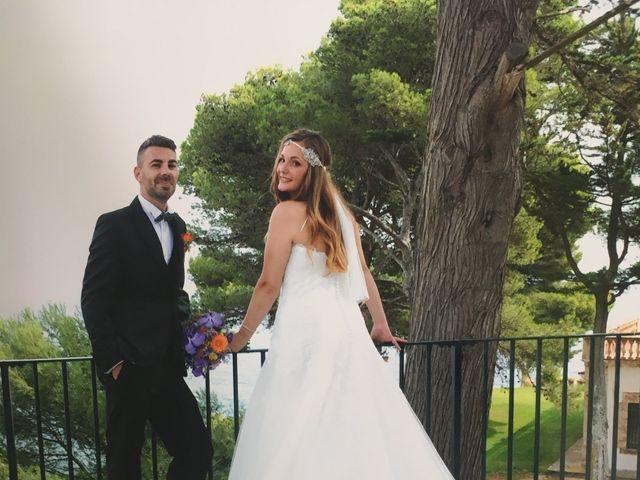 La boda de Rubén   y Sarah  en Castell-platja D'aro, Girona 19