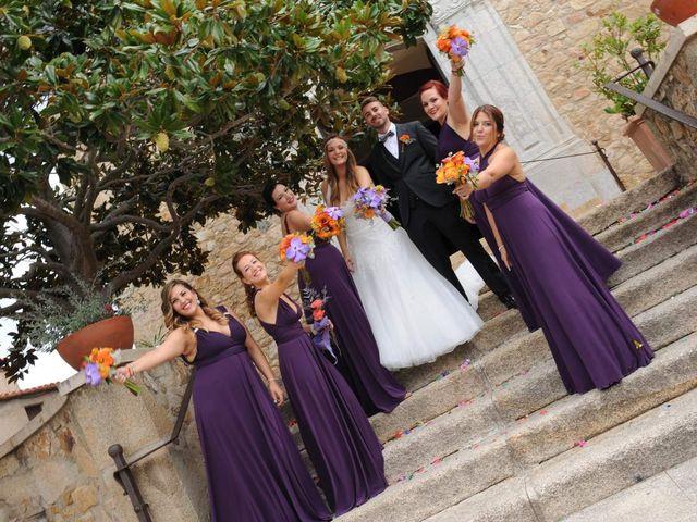 La boda de Rubén   y Sarah  en Castell-platja D'aro, Girona 28