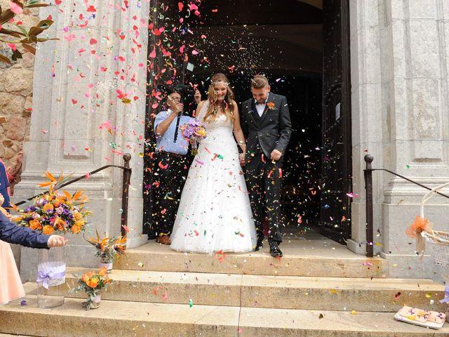 La boda de Rubén   y Sarah  en Castell-platja D'aro, Girona 30
