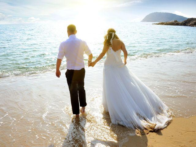 La boda de Rubén   y Sarah  en Castell-platja D'aro, Girona 37