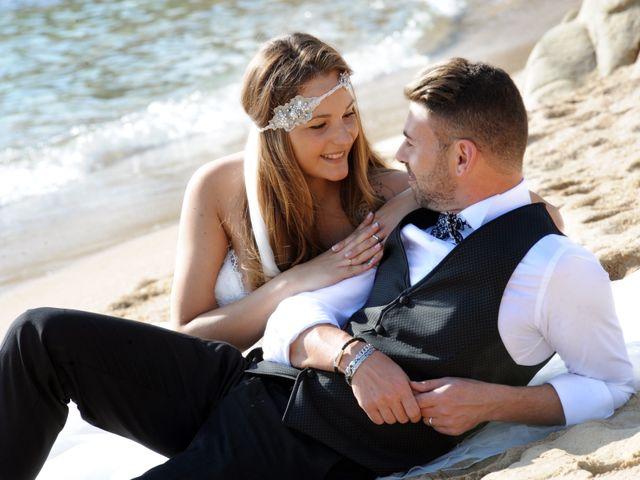 La boda de Rubén   y Sarah  en Castell-platja D'aro, Girona 39