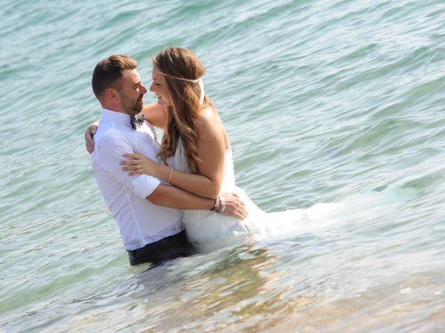 La boda de Rubén   y Sarah  en Castell-platja D'aro, Girona 43
