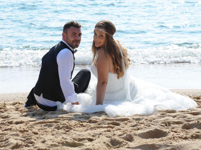 La boda de Rubén   y Sarah  en Castell-platja D'aro, Girona 47
