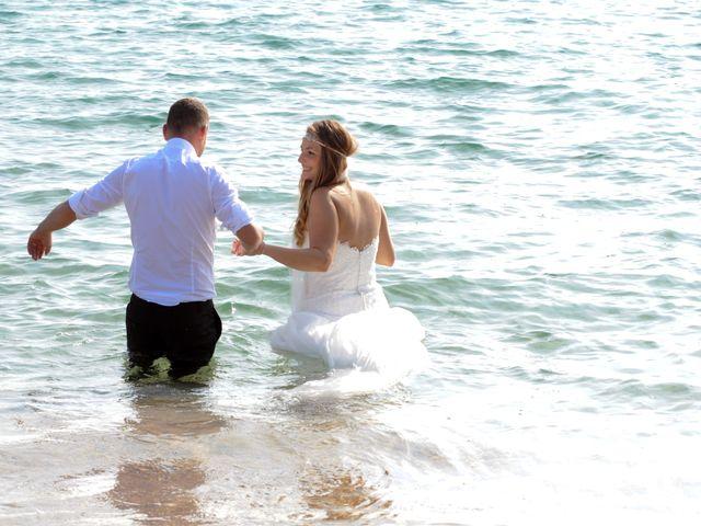 La boda de Rubén   y Sarah  en Castell-platja D'aro, Girona 48