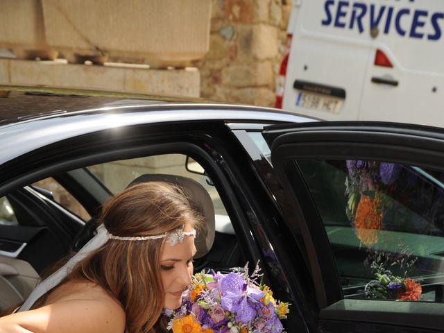 La boda de Rubén   y Sarah  en Castell-platja D'aro, Girona 56