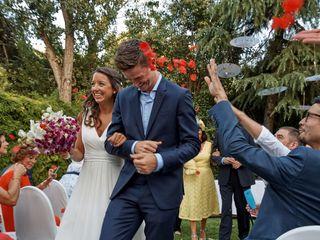 La boda de Lucía y Wayne