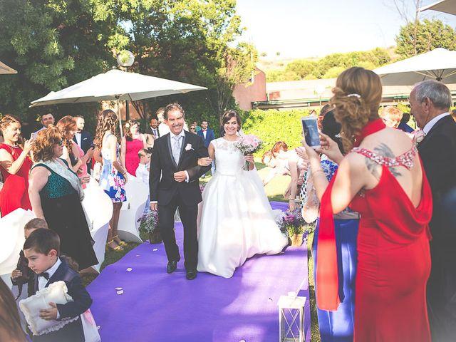 La boda de Laura y David en Algete, Madrid 59
