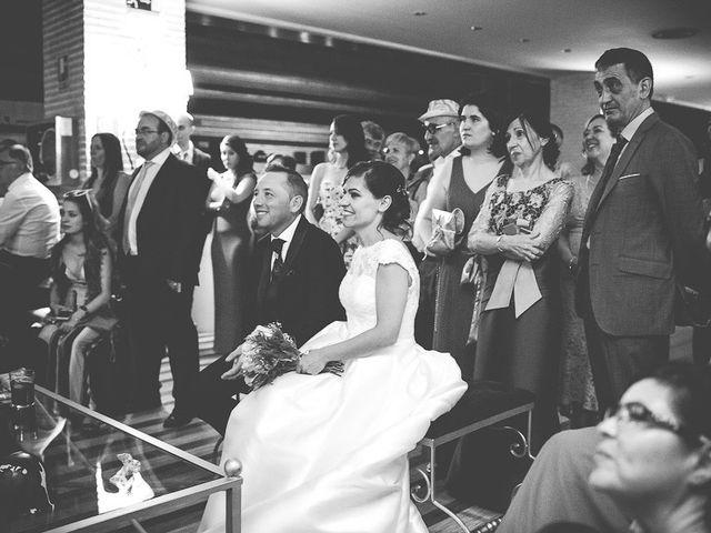 La boda de Laura y David en Algete, Madrid 99