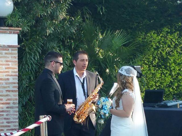 La boda de Chema y Saray  en Numancia De La Sagra, Toledo 1
