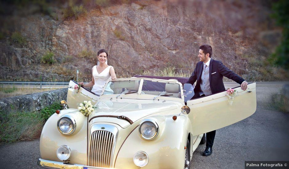 La boda de David y Elizabeth en Logrosan, Cáceres