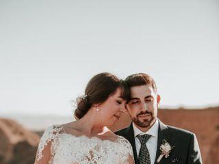 La boda de Rubén y Miriam en Burujón, Toledo 1