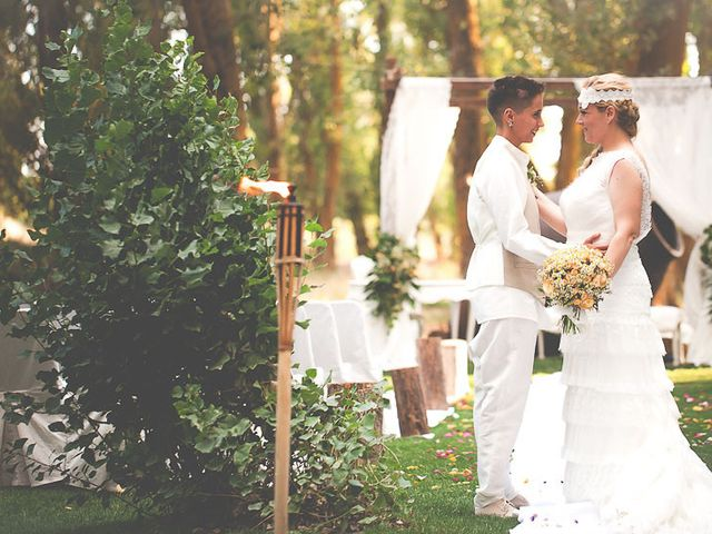 La boda de Alba y Gloria