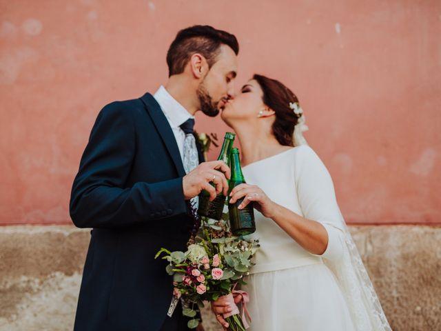 La boda de María y Yoel