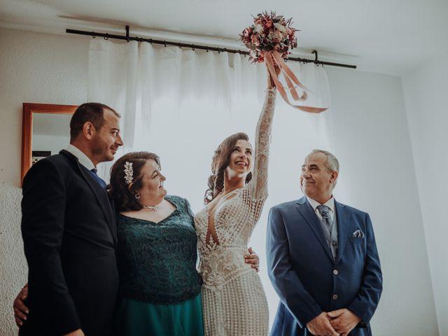 La boda de David y Africa en Pueblo Rielves, Toledo 13